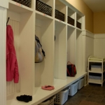 mudroom built in cubbies